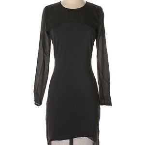Anthropologie's Tavik Fitted Black Dress NWT